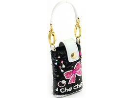 Che Che NewYork チチニューヨーク CO-580-S08-Black ブラック リボンモチーフ 携帯ケース