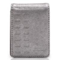 GRIFFIN 第3世代iPod nano用フリップトップ式レザーカバー Elan Convertible for 3G Nano (Silver)